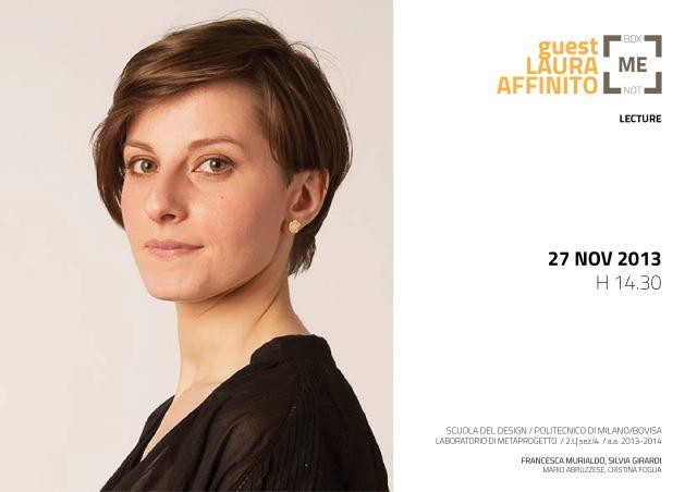 131127-Lecture Laura Affinito