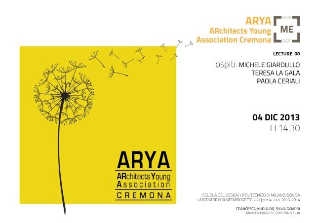 131204-Lecture ARYA